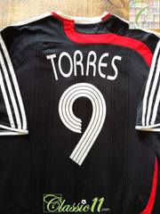 2007/08 Liverpool 3rd European Football Shirt Torres #9 (L)