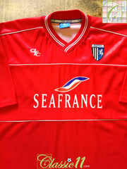 2002/03 Gillingham Away Football Shirt (M)