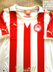 2011/12 Olympiacos Home Football Shirt (M)