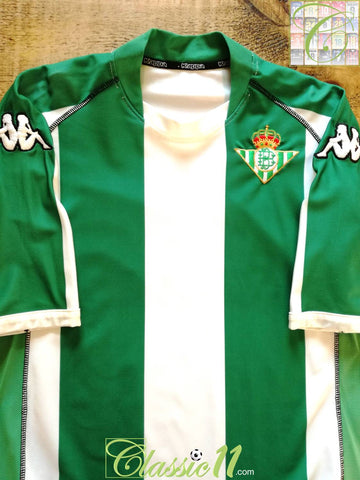 2002/03 Real Betis Home Football Shirt (XL)