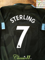 2017/18 Man City 3rd Premier League Aeroswift Football Shirt Sterling #7 (L)