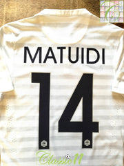 2014/15 France Away Player Issue Football Shirt Matuidi #14 (S)