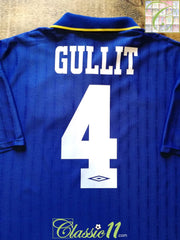 1995/96 Chelsea Home Football Shirt Gullit #4 (XL)