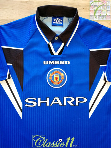 1996/97 Man Utd 3rd Football Shirt (Y)