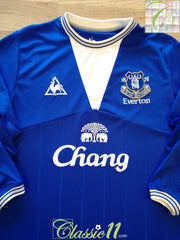 2009/10 Everton Home Football Shirt. (L)