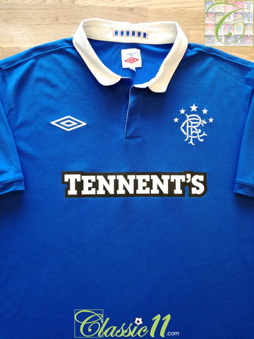 2010/11 Rangers Home Football Shirt (XL)