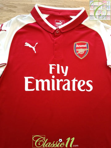 2017/18 Arsenal Home Football Shirt (L) *BNWT*