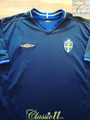 2003/04 Sweden Away Football Shirt (L)