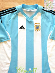2002/03 Argentina Home Football Shirt (XL)