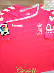 2015/16 Real Oviedo Away La Liga Football Shirt (L)