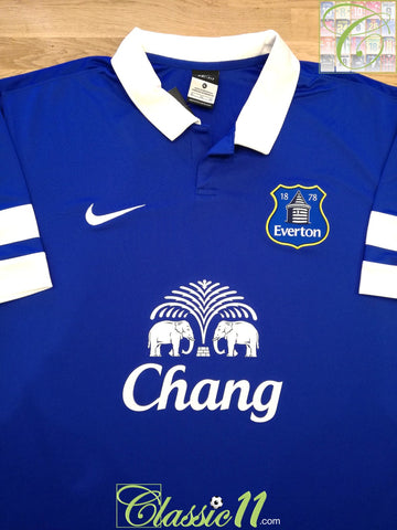 2013/14 Everton Home Football Shirt (XL) *BNWT*