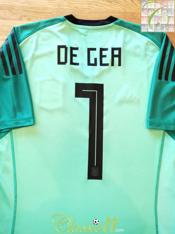 2018/19 Spain Goalkeeper Football Shirt De Gea #1 (L)