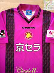 1997 Kyoto Purple Sanga Home J.League Football Shirt (S)