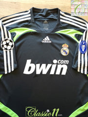2007/08 Real Madrid 3rd Champions League Football Shirt (XL)