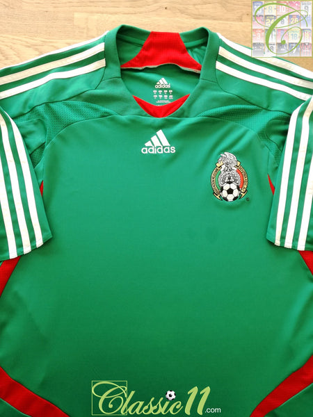 2007/08 Mexico Home Football Shirt / Classic Old Adidas Soccer ...