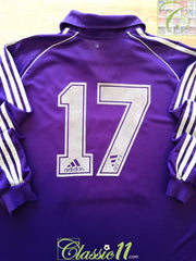 1999/00 Anderlecht Away Player Issue Football Shirt. #17 (XL)