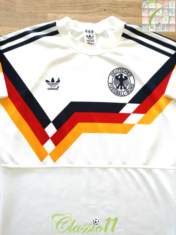 1990/91 West Germany Home Football Shirt (XL)