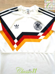 1990/91 West Germany Home Football Shirt (M)