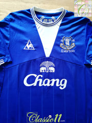 2009/10 Everton Home Football Shirt (XXL)