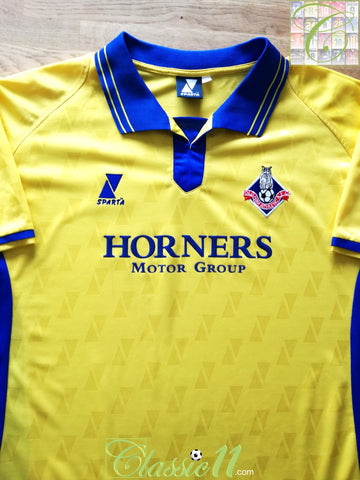 2003/04 Oldham Athletic Away Football Shirt (XL)