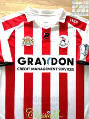 2008/09 Sparta Rotterdam Home Football Shirt (L)