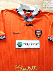 1997/98 Blackpool Home Football Shirt (XXL)