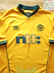 2000/01 Celtic Away Football Shirt (XL)