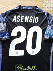 2016/17 Real Madrid 3rd Champions League Football Shirt Asensio #20 (XS)