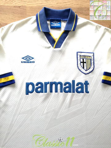1993/94 Parma Home Football Shirt (L)