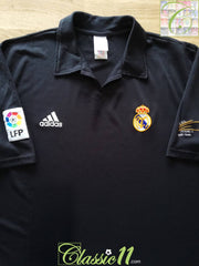 2001/02 Real Madrid Away La Liga Centenary Football Shirt (L)