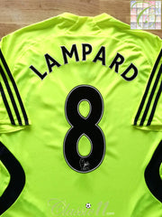 2007/08 Chelsea Premier League Away Football Shirt Lampard #8 (M)