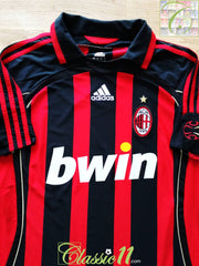 2006/07 AC Milan Home Football Shirt (XXL)