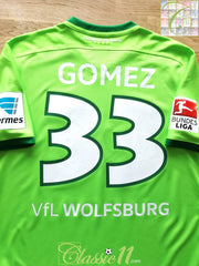 2016/17 Wolfsburg Home Bundesliga Football Shirt Gomez #33 (M)