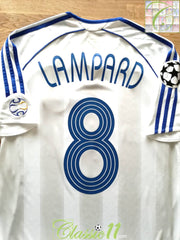 2006/07 Chelsea Away Champions League Football Shirt Lampard #8 (S)