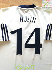 2002/03 Dynamo Kiev Home Football Shirt Husin #14 (M)