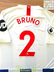 2018/19 Brighton Home Premier League Football Shirt Bruno #2 (XL) *BNWT*