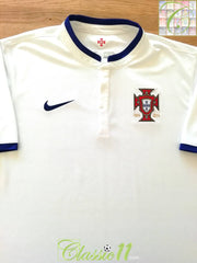 2014/15 Portugal Away Football Shirt (XL)