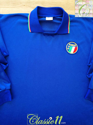 1985/86 Italy Home Player Issue Football Shirt. (XL)
