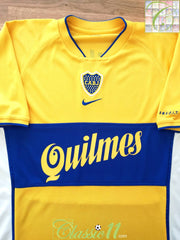 2001 Boca Juniors Away Football Shirt (L)