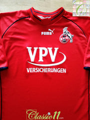 2001/02 1. FC Koln Home Football Shirt (L)
