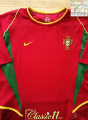 2002/03 Portugal Home Football Shirt (L)