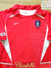 2002/03 South Korea Home Player Issue Football Shirt (L)