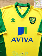 2013/14 Norwich City Home Football Shirt (XXL)
