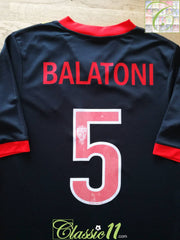 2011/12 Partick Thistle Away Football Shirt Balatoni #5 (S)