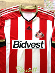 2014/15 Sunderland Home Football Shirt (XL)