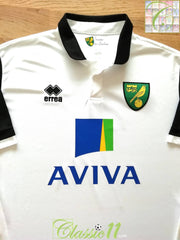 2013/14 Norwich City Away Football Shirt (XL)
