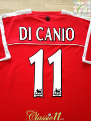 2003/04 Charlton Home Premier League Football Shirt Di Canio #11 (XL)