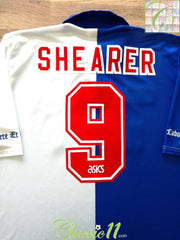 1994/95 Blackburn Rovers Home 'Champions' Football Shirt Shearer #9 (XL)