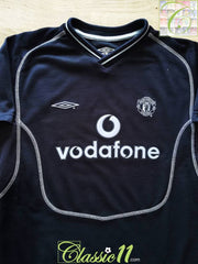 2000/01 Man Utd Goalkeeper Football Shirt (B)