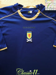 2007/08 Scotland Home Football Shirt (XXL)